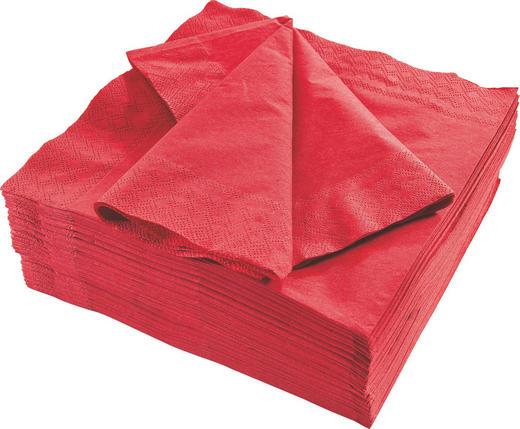 UBROUSEK - bordeaux, Basics, papír (40/40cm) - Xxxlpack
