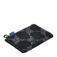 WASCHHANDSCHUH  Grau, Schwarz - Schwarz/Grau, Basics, Textil (16/22cm) - Joop!