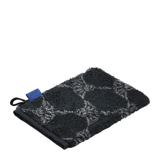 WASCHHANDSCHUH - Schwarz/Grau, Basics, Textil (16/22cm) - JOOP!