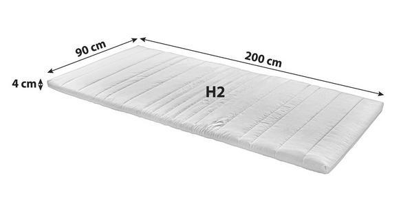 Topper Ingo 90x200cm H2 - Weiß, Textil (90/200cm) - Primatex