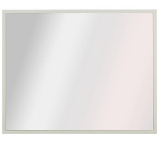 SPIEGEL 83/67/2 cm - Weiß, Design, Glas/Holzwerkstoff (83/67/2cm) - Hom`in