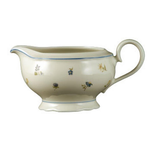 SAUCIERE Keramik Porzellan - Multicolor/Creme, Basics, Keramik (0.6l) - Seltmann Weiden