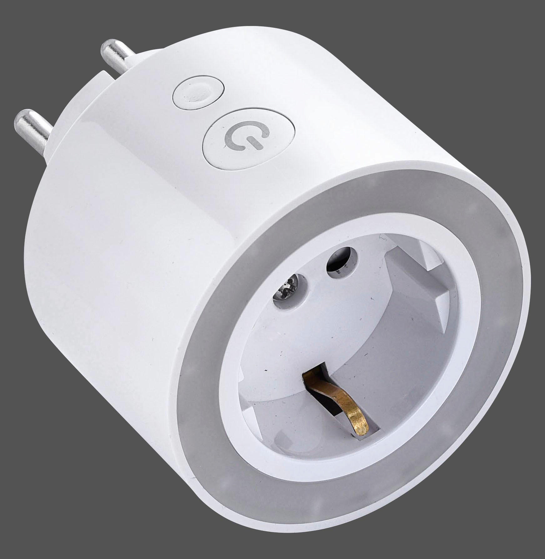 NETZADAPTER - Weiß, Basics, Kunststoff (6,5/6,5/8,4cm)