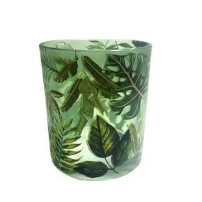 VÄRMELJUSGLAS - grön, Lifestyle, glas (9/10cm) - Ambia Home