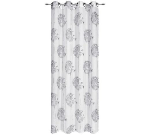 ÖSENSCHAL  halbtransparent  140/245 cm   - Schwarz/Weiß, Design, Textil (140/245cm) - Novel