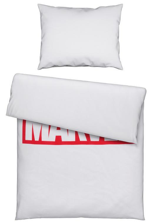 JUGENDBETTWÄSCHE - Rot/Weiß, KONVENTIONELL, Textil (140/200cm)