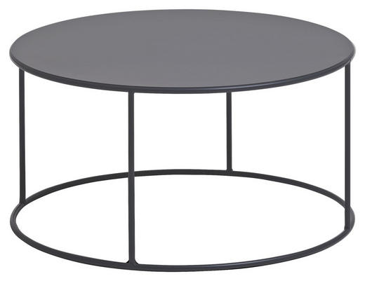 COUCHTISCH in Metall  60/35 cm - Anthrazit, Trend, Metall (60/35cm) - Carryhome