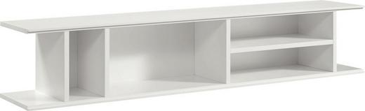 HÄNGEELEMENT Weiß - Weiß, Design (128/25,6/25cm) - Hülsta - Now