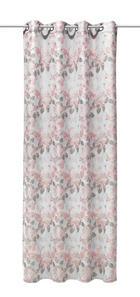 ZAVJESA S RINGOVIMA - svijetlo ružičasta, Konvencionalno, tekstil (140/245cm) - Esposa