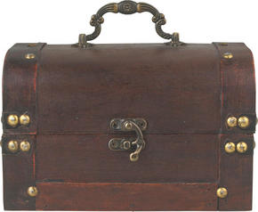 KISTA - brun, Trend, trä (20/14/12,5cm) - Ambia Home
