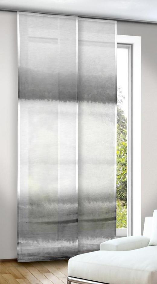 FLÄCHENVORHANG   transparent   60/245 cm - Grau, Textil (60/245cm)