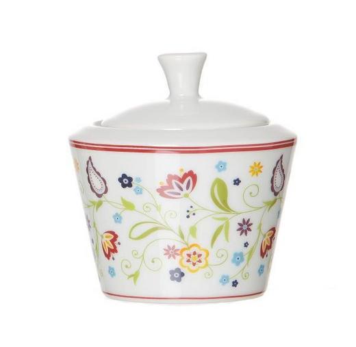 ZUCKERDOSE Keramik - Gelb/Lila, Basics, Keramik (9/8cm) - Ritzenhoff Breker