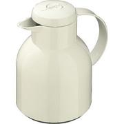 ISOLIERKANNE 1 L  - Weiß, Basics, Kunststoff (1l) - Emsa