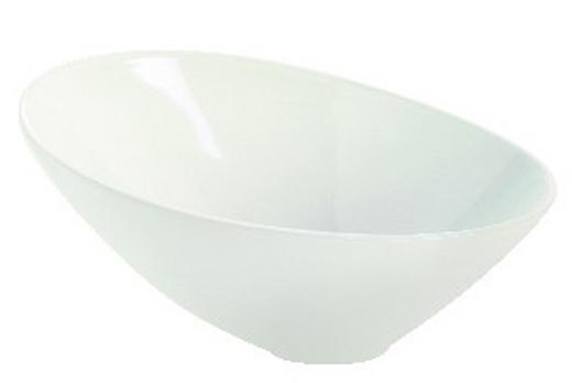 SCHALE Keramik Steinzeug - Weiß, Basics, Keramik (15,5cm) - ASA