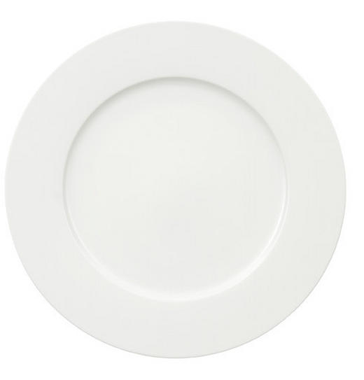 SPEISETELLER Bone China - Weiß, Basics (30cm) - VILLEROY & BOCH