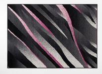 Webteppich Arielle - Violett/Schwarz, Basics, Textil (160/225cm) - Ombra