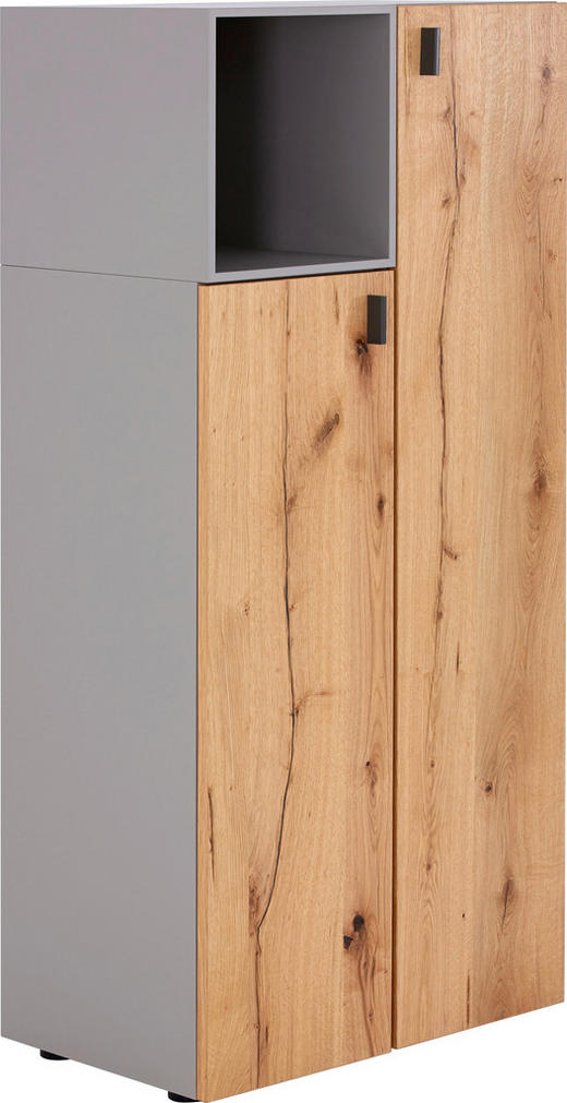 HIGHBOARD 65/142,6/40,9 cm - Fango/Eichefarben, Design, Holz/Holzwerkstoff (65/142,6/40,9cm) - Gwinner Internation.