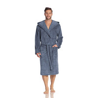 BADEMANTEL LYNN  gr S - Blau, Basics, Textil (S) - Vossen