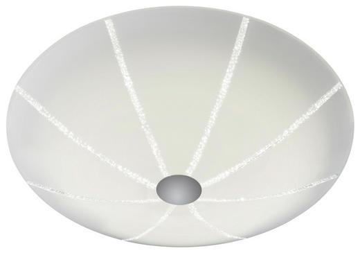 LED-DECKENLEUCHTE - Chromfarben, KONVENTIONELL, Metall (42/12cm) - Bankamp