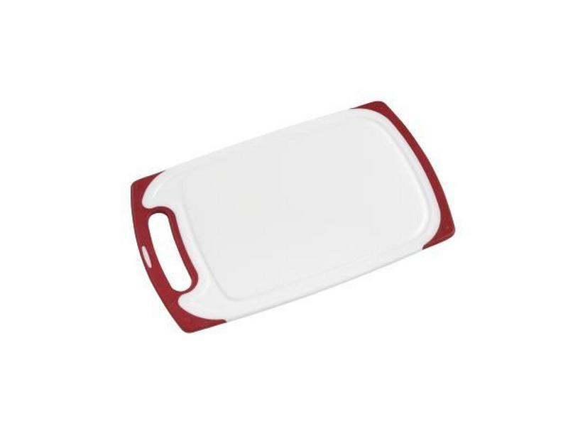 SKÄRBRÄDA - vit/röd, Basics, plast (32,7/20/1cm) - Homeware