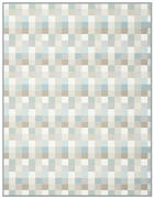 ODEJA SMOOTH - naravna/svetlo modra, Konvencionalno, tekstil (150/200cm)