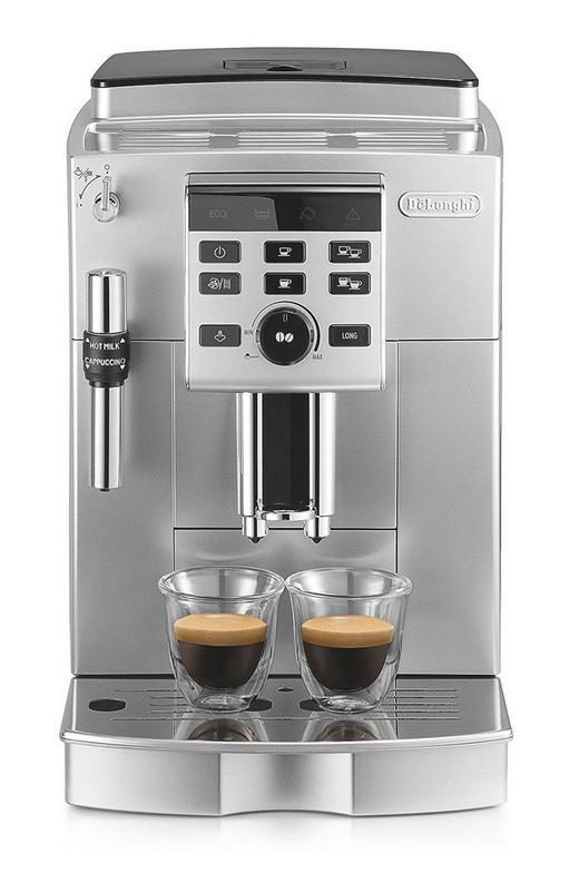 DE'LONGHI Kaffeevollautomat - Silberfarben, Basics, Kunststoff/Metall (35/24/43cm)