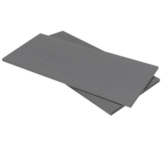 EINLEGEBODENSET 2-teilig Grau  - Grau, Design (110/2/50cm) - Carryhome