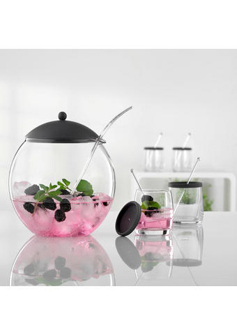 BOWLE-SET - Design, Glas/Kunststoff - Bohemia
