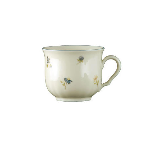 KAFFEETASSE 210 ml - Weiß, KONVENTIONELL, Keramik (0,21l) - Seltmann Weiden