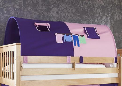 TUNNELSET Lila, Rosa - Lila/Rosa, Design, Textil