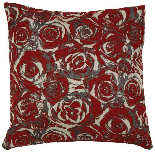 ZIERKISSEN - Rot, Design, Textil (45/45cm)