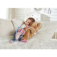 PLÜSCHTIER LIEF BAS THE BEAR - Multicolor/Braun, Basics, Textil (30/63/25cm) - SIMBA