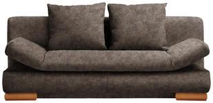 SCHLAFSOFA in Textil Braun  - Braun, Design, Holz/Textil (200/87/93cm) - Venda