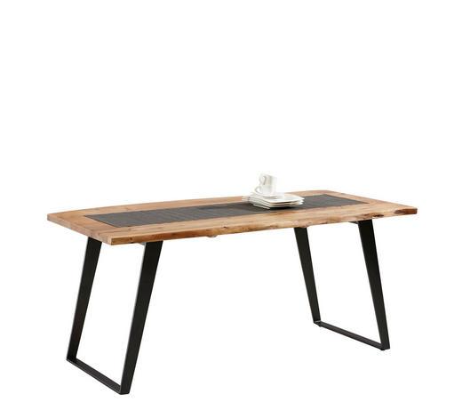 STOL ZA BLAGOVAONICU - boje bagrema/crna, Konvencionalno, drvo/metal (175/90/76cm) - Ambia Home