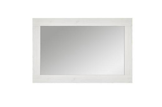 SPIEGEL Lärchefarben - Lärchefarben/Weiß, Design, Glas/Holzwerkstoff (100/65/2cm) - Landscape