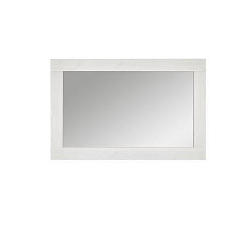 SPIEGEL Weiß - Lärchefarben/Weiß, Design, Glas/Holzwerkstoff (100/65/2cm) - Landscape