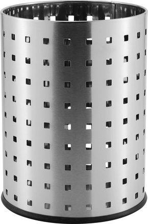 PAPPERSKORG - rostfritt stål-färgad, Basics, metall (20,5/27cm) - Homeware