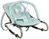 SCHAUKELWIPPE  - Silberfarben/Mintgrün, Basics, Kunststoff/Textil (50/40/74cm) - My Baby Lou