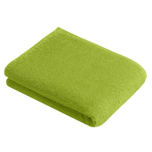 BADETUCH 100/150 cm - Grün, Basics, Textil (100/150cm) - Vossen