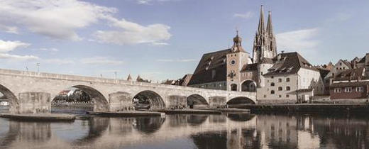 Städte GLASBILD - Multicolor, Basics, Glas (50/125/2cm) - EUROGRAPHICS