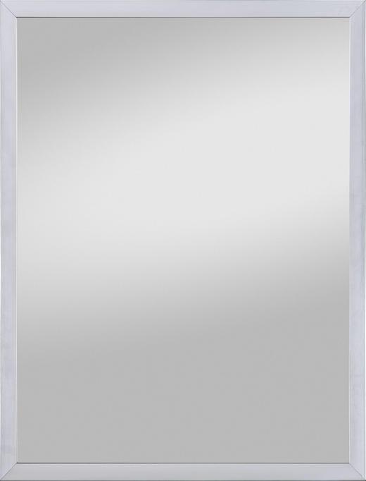 WANDSPIEGEL Edelstahlfarben - Edelstahlfarben, KONVENTIONELL, Holzwerkstoff (42/32/1,6cm)