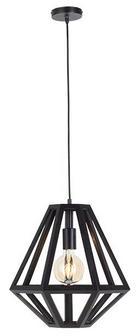 HÄNGELEUCHTE - Schwarz, Basics, Holz (25/33-150cm)