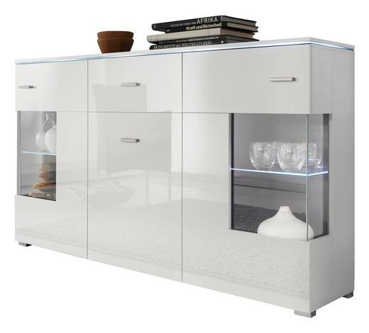 Sideboard Hochglanz Melaminharzbeschichtet Weiss Online Kaufen