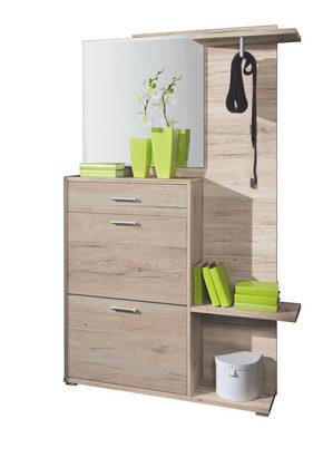 HALLINREDNING - ekfärgad, Design, träbaserade material (120/196/26cm) - Boxxx