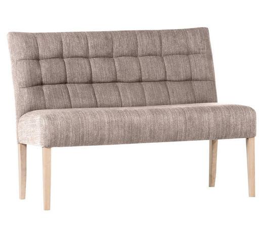 SITZBANK 120/94/65 cm  in Beige - Beige/Naturfarben, KONVENTIONELL, Holz/Textil (120/94/65cm) - Cantus