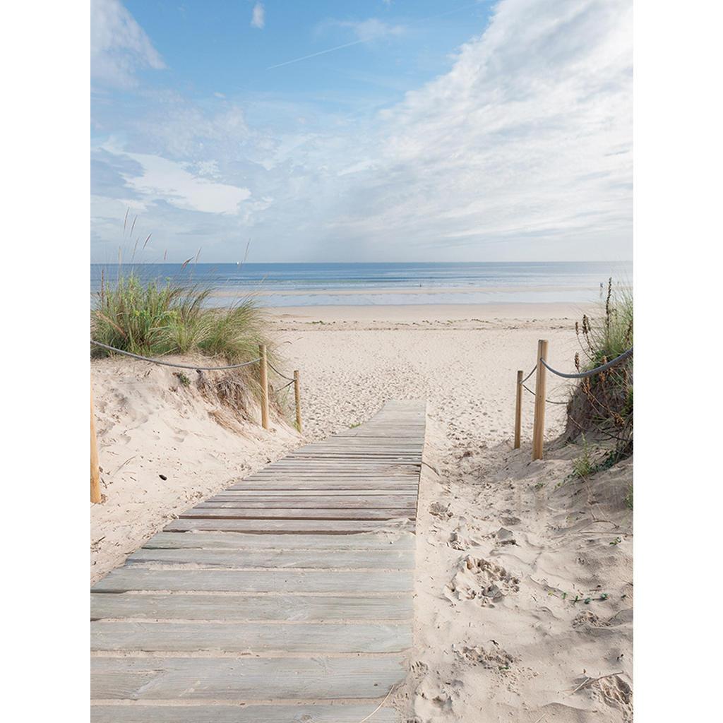 Euroart Keilrahmenbild strand & meer