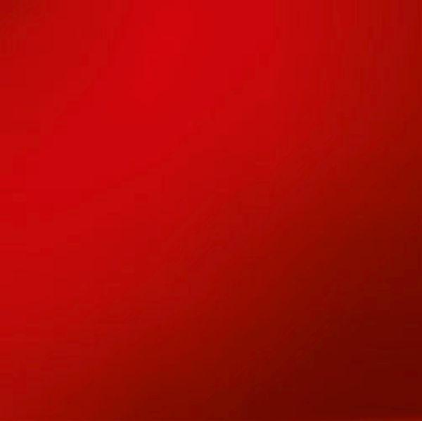 MEMOBOARD - röd, Basics, metall/glas (30/30cm) - EUROGRAPHICS