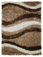 TEPIH VISOKOG FLORA - bež, Basics, tekstil (80/150cm) - Novel
