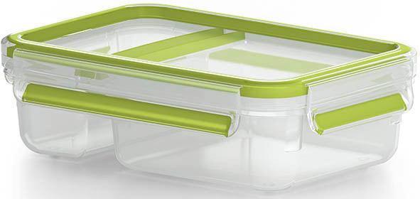 CLIPBOX  0,8 l - Transparent/Grün, Design, Kunststoff (0,8l)