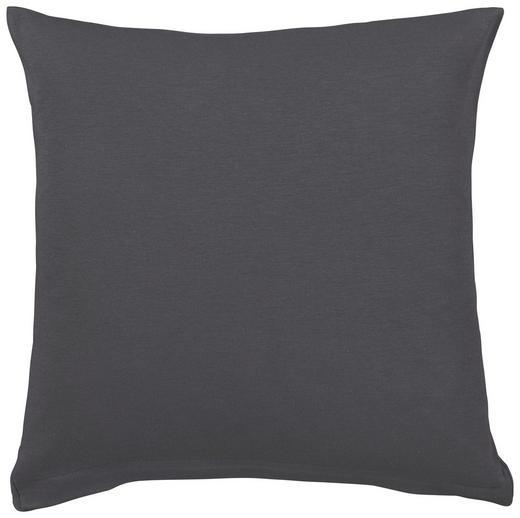 KISSENHÜLLE Dunkelgrau 80/80 cm - Dunkelgrau, Basics, Textil (80/80cm) - SCHLAFGUT